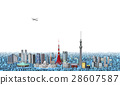 东京 市容 城市 28607587