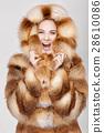 fur hair fashion 28610086