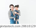 背帶褲 工作服 父母和小孩 28610129