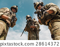 US Army Rangers with weapons 28614372