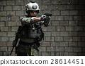 US Army Ranger aiming pistol 28614451
