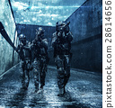 Police officers SWAT 28614656