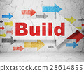 arrow, construction, building 28614855