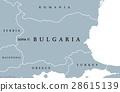 Bulgaria political map 28615139