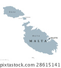 Malta political map 28615141