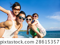 海滩 夏天 夏 28615357