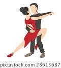 Tango icon, cartoon style 28615687
