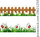 Green Grass seamless set 28621250
