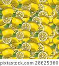 lemon, pattern, seamless 28625360