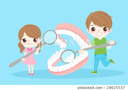 children with denture 28625537