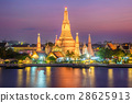 Wat arun night view temple in bangkok 28625913