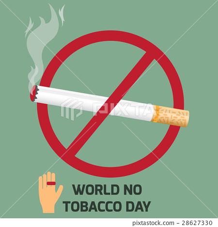 world no tobacco day design.  28627330