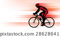 자전거를 타는 남성 _ 레드 28628641