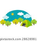 野營地 營地 露營 28628981