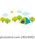 野營地 營地 露營 28628982
