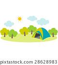 野營地 營地 露營 28628983