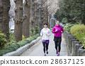 여성, 여자, 달리기 28637125