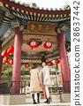 唐人街 行走 步行 28637442