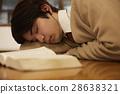 男人 考試中的學生 備考的學生 28638321