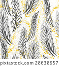 vector wheat background 28638957