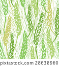 vector wheat background 28638960