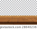 Empty wooden table background.Old vintage shelf  28640236
