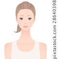 Women's upper body 28640398