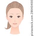 女性的脸 28640400