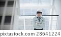 男人的樓梯上有工作服 28641224