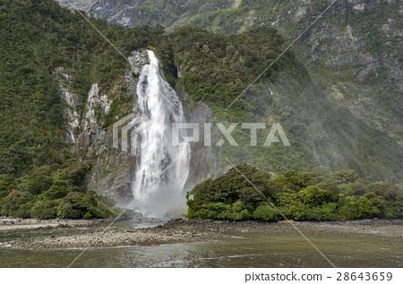Lady Bowen Falls, Milford Sound, New Zealand 28643659