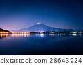Mount Fuji and lake Kawaguchi 28643924