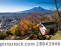 Mount Fuji and Fujiyoshida city 28643946