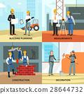 Building Concept Icons Set 28644732