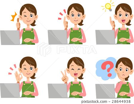 female, lady, woman 28644938