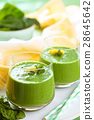 spinach, smoothie, vegetable 28645642