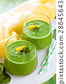 Spinach smoothie  with mint. 28645643