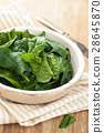 Fresh spinach leaves. 28645870