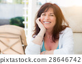 Attractive Middle Aged Woman Portrait 28646742