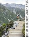 mountain, valley, walkway 28648715
