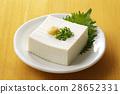 冷豆腐 豆腐 日本料理 28652331