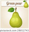 녹색, 벡터, 신선한 28652743