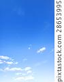 藍天天空雲彩冬天天空背景材料2月拷貝空間 28653995