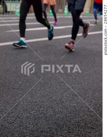 Runners in Japan/Kyoto,Japan 28654277