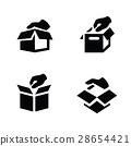 hand and box icon design 28654421