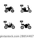 Sale Motorcycle icon set 28654467