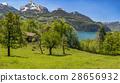 Swiss alpine scenery 28656932