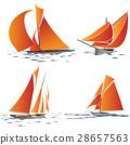 遊艇 帆船 海 28657563