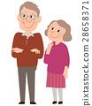 老人 老年夫妇 女生 28658371