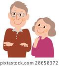 老人 老年夫妇 女生 28658372