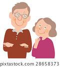 老人 夫妇 一对 28658373